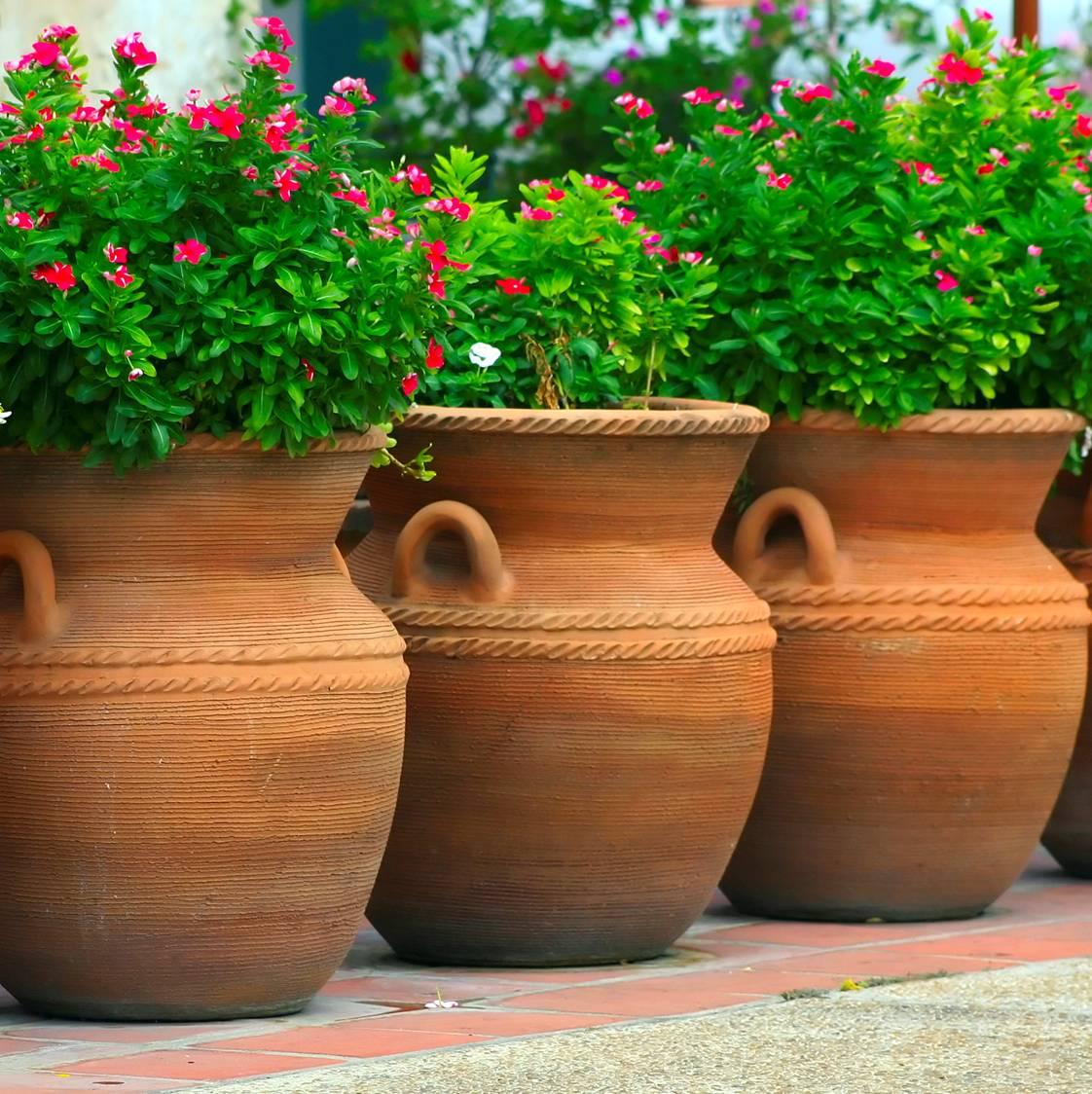 Large Planters Pots Terracotta